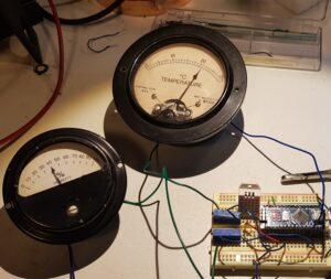 Testing the meters
