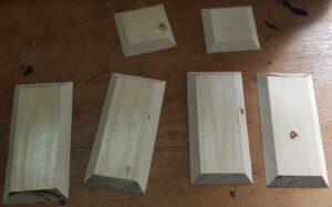 Wooden Box Parts