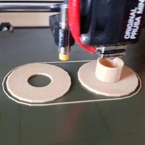 Printing Coil Base