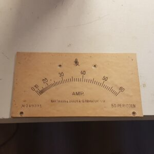 Old scale plantmeter