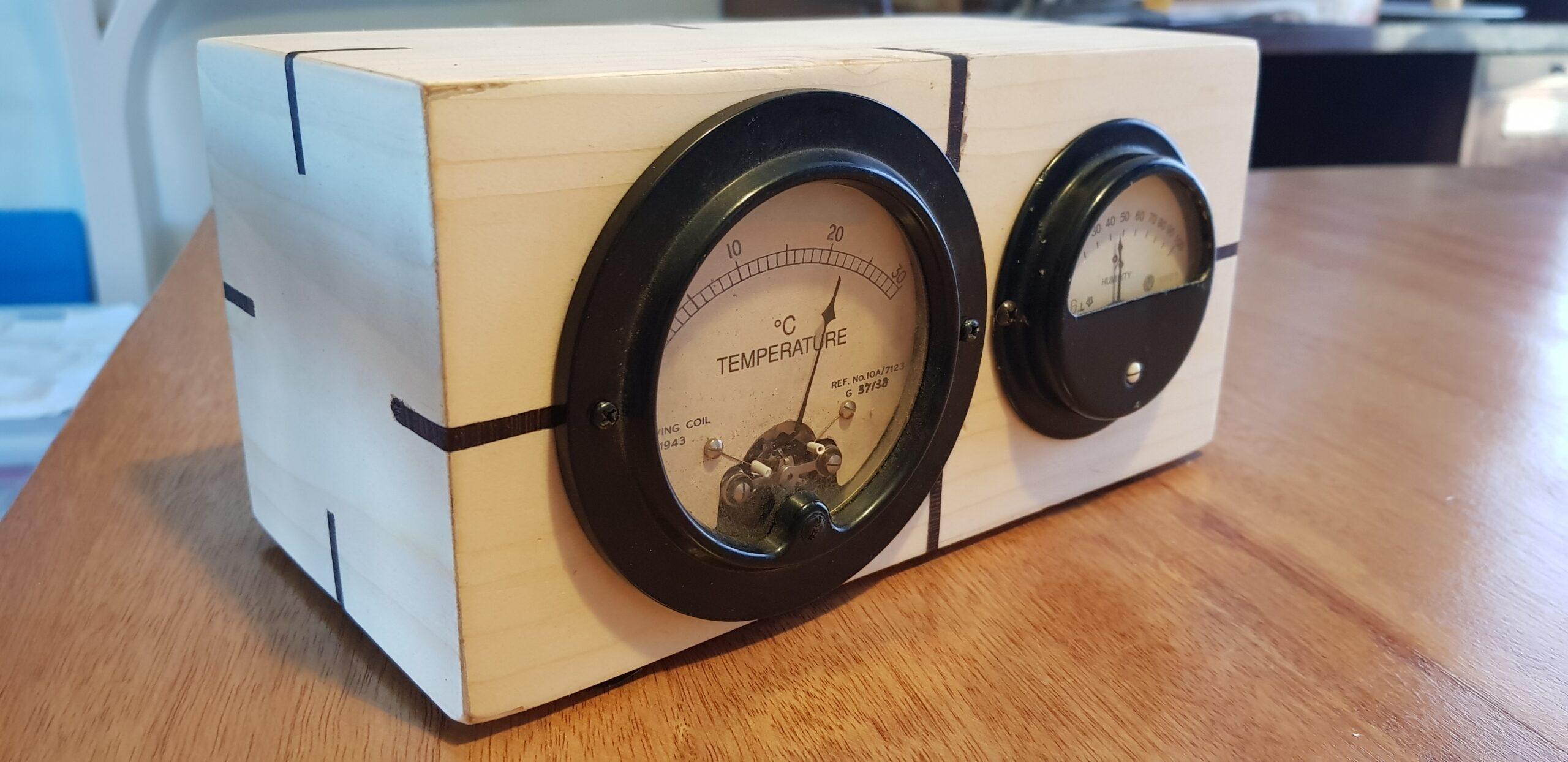 Temperature Humidty Meter Box