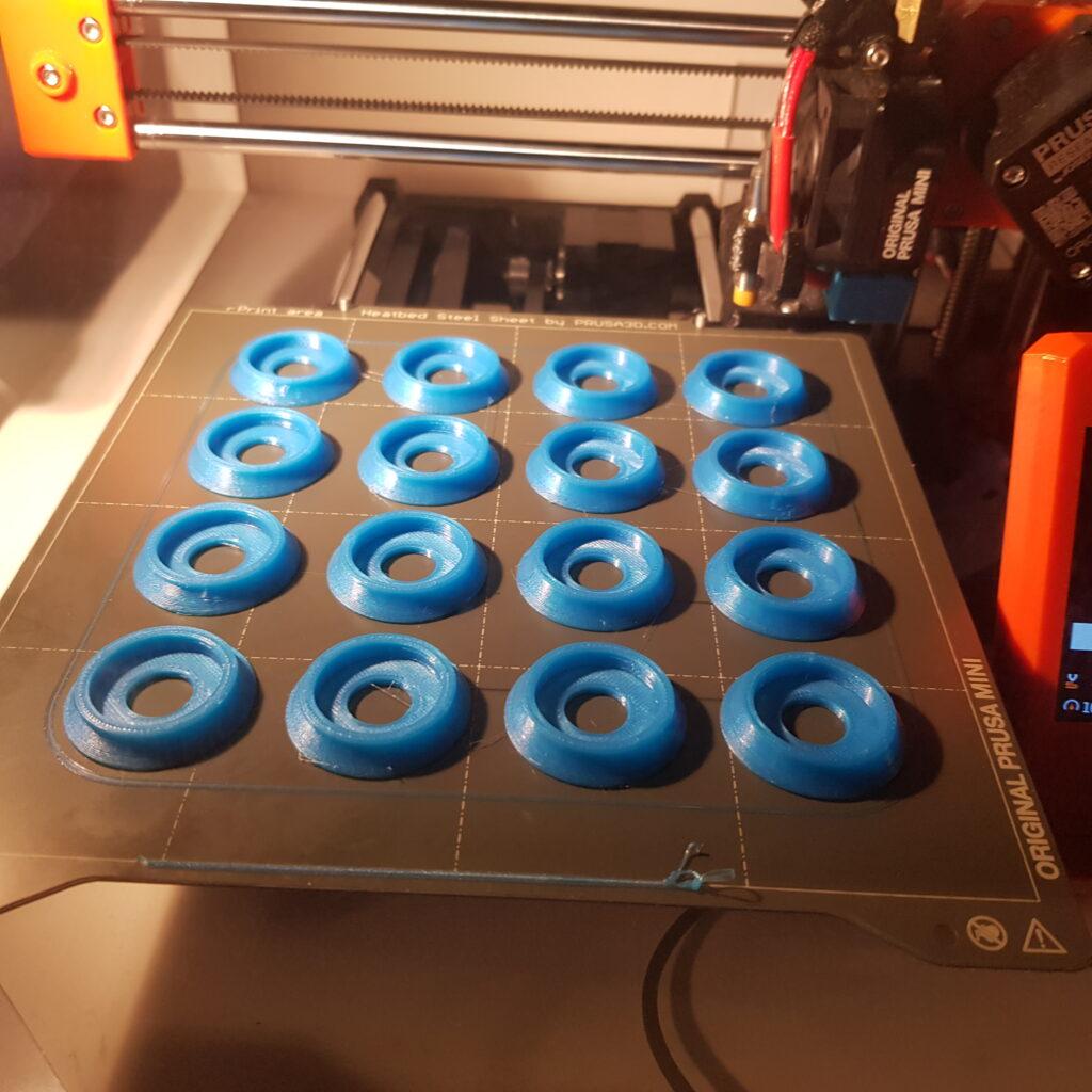 3D Printed Bearing Covers