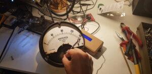 Testing the Servo Meter