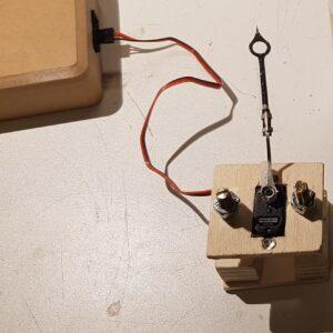 Assembled Servo Needle