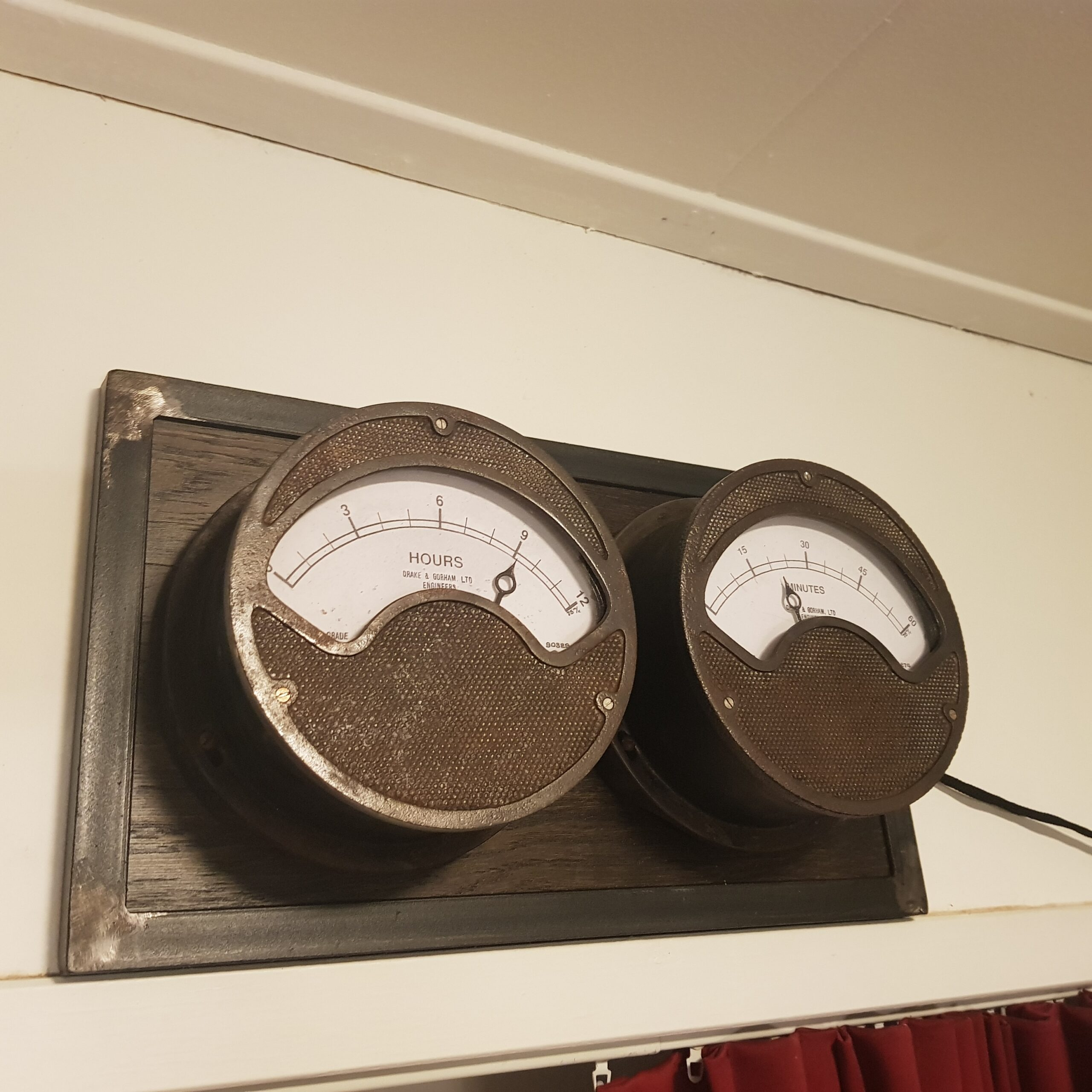 Wall Mounted Meter Clock