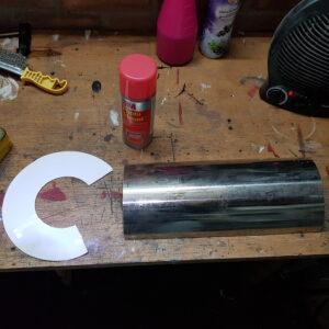 Preparing the cone template