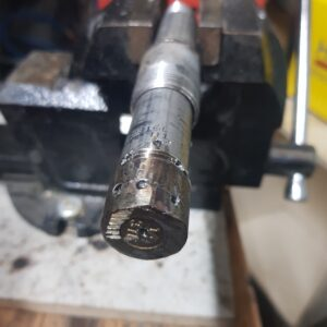 Ground and drilled injector v1