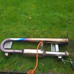 Completed and Welded Pulse Jet